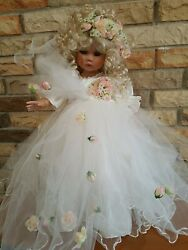 Key To My Heart Lovely As Can Be Porcelain Doll By Linda Rick
