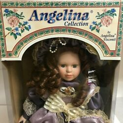 Vintage Doll Angelina Visconti Limited Edition Of Fine Porcelain Collection 1998