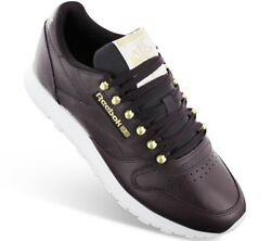Neuf Reebok Classic Leather Cl Lthr Fw1258 Baskets Sneakers Chaussures Pour Femm