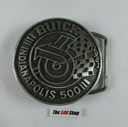 1981 Indianapolis 500 Belt Buckle Limited Edition 281 Of 500 Pewter Bobby Unser