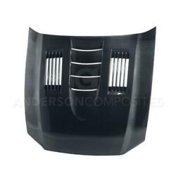 Type-ss Carbon Fiber Hood For 2010-14 Ford Mustang Gt500 And 2013-14 Mustang Gt/v6