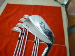 Titleist 670mb 3p Set S200 8x Excellent Condition Rare Muscle Blade Stunning