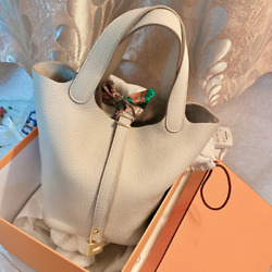 Simple Small PU Leather Bucket Bags For Women 2021 New Fashion Shoulder Handbag $42.99