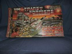 Tyco Transformers Electric Train And Battle Set 1985