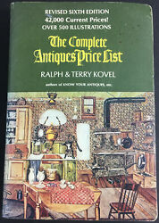 The Complete Antiques Price List By Ralph And Terry Kovel