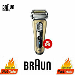 Braun Series 9 Electric Shaver Wet/dry Trimmer Recharge S9 Shaver - Gold