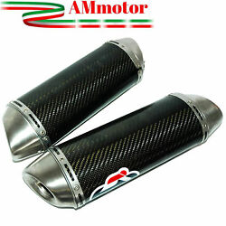 Exhaust Muffler Termignoni Yamaha Yzf R1 2010 Motorcycle Silencers Oval Carbon