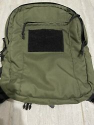 Special Operations Equipment Soe Daypack W/extras Old School Od And Black