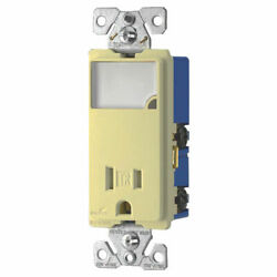 Cooper Wiring Tr7735v-box Arrow Hart Receptacle/night Lights Dimmable Leds.