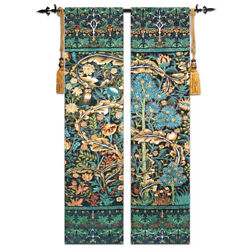 New Medieval Tapestries Jacquard Woven Wall Hanging Wall Hangings Tree Of Life