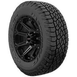 2-235/70r16 Mastercraft Courser Axt2 106t Sl/4 Ply White Letter Tires
