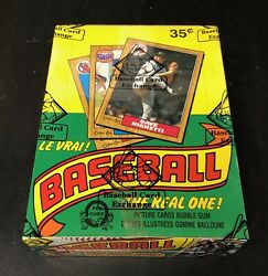 1987 Opc Baseball Wax Box Bbce Authenticated From A Sealed Case