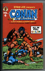 Complete Marvel Conan The Barbarian Vol 6 Vf+ 8.5 1978 Marvel Barry Smith Art