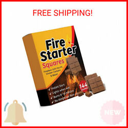 Bangerz Sunz Fire Starter Squares 144, Fire Starters For Fireplace, Wood Stove