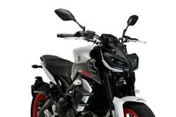 Puig Side Downforce Spoilers Wings Black Yamaha Mt-09 And Sp 2017 - 2020