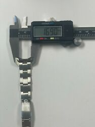 17 Mm Vintage Rolex Oyster Band See Pictures For Condition Item 95709