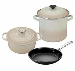 Le Creuset 5-piece Oven And Stovetop Cookware Bundle With 4-1/2 Qt Round Dutch