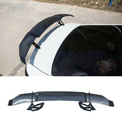 Fit For Mazda 6 Atenza 2020-2021 Real Carbon Fiber Rear Trunk Spoiler Wing Flap