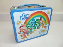 Vintage Aladdin Industries Care Bears Lunchbox With Thermos-very Good Shape