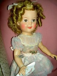 Rare,1958, Gorgeous Ideal Shirley Temple 17 Doll M-i-b With Accessories St-17-1