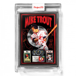 Topps Project70® Card 410 - 2011 Mike Trout By Dj Skee - Artist Proof To 51