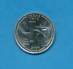 2004 P Texas New Uncirculated State Quarter