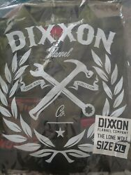 Dixxon Flannel Xl.... The Lone Wolf.... Sold Out In Stores.