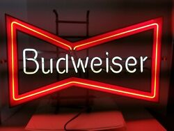Vintage Budweiser Neon Sign Perfect For Man Cave Local Pickup Las Vegas, Nv