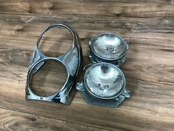 Mercedes Benz Oem W108 W109 220se 280se 280sel Front Left Or Right Headlight 2