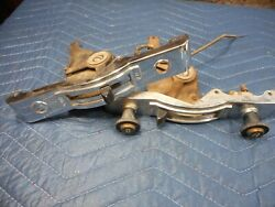 Lot 2 1950s 60s Studebaker Dash Trim Panel Switches Control Defrost Air
