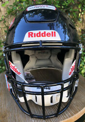 New Riddell Speed Flex Football Helmet And Facemask - Extra-large - Black