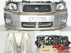 Used Jdm Forester Sg9 Sti 03-08 Complete Front End Autobody Kit