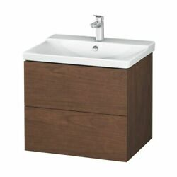 Duravit Lc624401313 L-cube 24 3/8 Wall Mount Single Bathroom Vanity With Two.