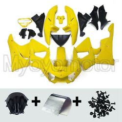 Motorcycle Abs Fairing Fit For Honda Cbr900rr 919 1998 1999 98 99 Yellow Kit
