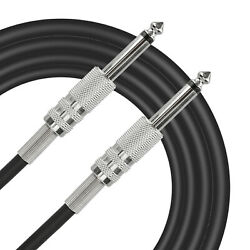 Eeekit Guitar Cable 6ft, Electric Instrument Bass Cable Amp Cord 14 Straight