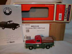 Lionel 6-81122 Christmas North Pole Express Tmcc 1955 Inspection Truck Lighted