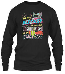 Sewing - Past Buyers Exclusive Classic Long Sleeve T-shirt - 100 Cotton