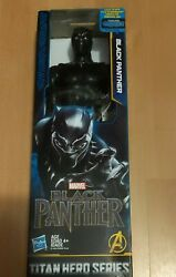 Marvel Black Panther Titan Hero Series BLACK PANTHER 12quot; you figurine NEW