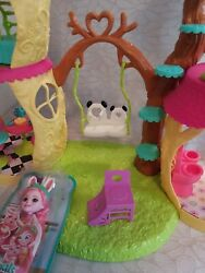Enchantimals Panda Playhouse Set With Furniture And New In Package Bree Bunny