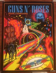 Guns N Roses Hershey Park Stadium Pa Weandrsquore Back Event Poster 7/31/21 Only 250