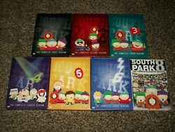 South Park Lot Of 14 Seasons On Dvd 1-6, 8-10, 12-14 And 16 And 17 Free Ship