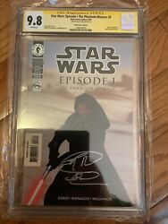 Star Wars Episode 1 One 3 Cgc Ss 9.8 Ray Park First 1st Darth Maul Variant Nm