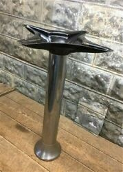 Chrome Display Stand, Table Leg Base, Slot Machine, Country Store Vintage C,