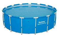 Bestway 15and039 X 48 Steel Pro Frame Above Ground Swimming Pool | 12752