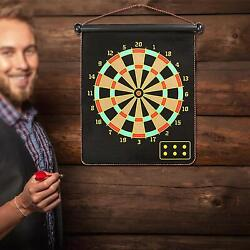 Galvin Indoor And Outdoor High Magnetic Score Power Dart Board Kit