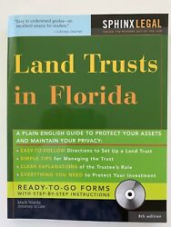 Land Trust In Florida Book And Cd