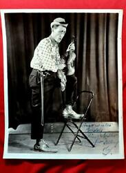 Buddy Arnold Estate Bardstownky Autographed Photo Slim Miller Renfro Valley