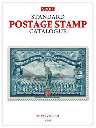 Scott Stamp Catalog 2022 Volume 5a And 5b Countries N-samoa Reference Book