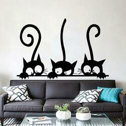 Kitten Cats PVC Removable Wall Stickers Children Room Wall Decoration# Art U7Y8