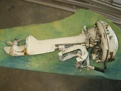 Lot Of 2 Antique Mcculloch Outboard Motors No Shipping